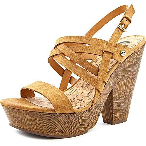 52c21e1bf5ba9a G by Guess Womens Saint Open Toe Casual Platform Sandals