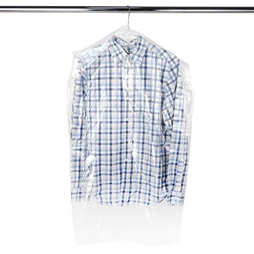 Hangerworld Clear Polythene Garment Covers