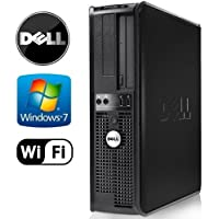 Dell 745 - Intel Pentium Dual Core 3.4GHz, 8GB RAM, New 1TB Hard Drive, Microsoft Windows 7 Pro 64-Bit, WiFi (Prepared by ReCircuit)