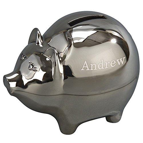 Personalized Keepsake Bank - Personalized Baby Keepsake Piggy Bank, Custom Piggy Bank, Baby gift, Baby's first Piggy Bank, Monogrammed Piggy Bank, Metal Bank, Kid's Piggy Bank, Personalized Baby Gift, Engraved Piggy Bank