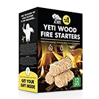 WOODHOT WH YETI Wood FIRE Starters for C...