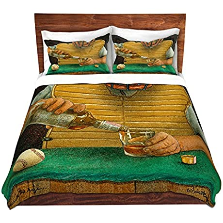 Duvet Cover Brushed Twill Twin Queen King SETs DiaNoche Designs Will Bullas Catcher In The Rye