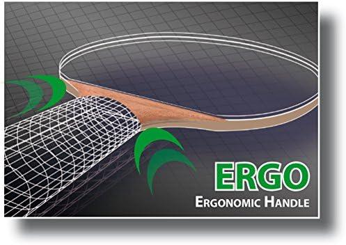 Donic-Schildkr/öt Ovtcharov 600 FSC Raquette pour Tennis Gris//Noir//Rouge