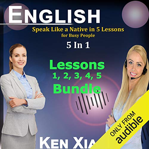 Pdf Test Preparation English: Speak Like a Native in 5 Lessons for Busy People, 5 in 1