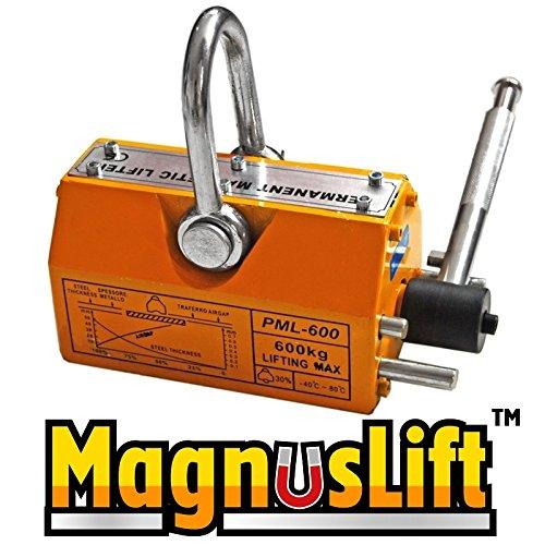600 KG Magnetic Lifters Magnetic Lifter Heavy Duty Crane Hoist Lifting Magnet 1320lb