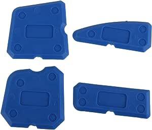 Kit de herramientas de calafateo de 8 piezas con raspador de pl/ástico//removedor de calafateo//boquilla yotijar Sellador de silicona removedor de silicona
