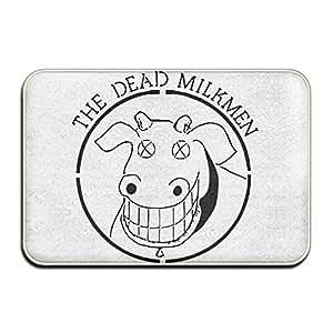 Dead milkmendoormat–Felpudo de entrada (Floor Mat Alfombra para interiores/exteriores/puerta delantera/baño alfombrillas de goma antideslizante