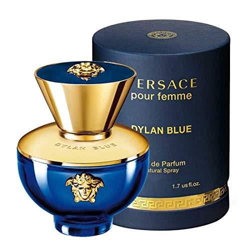 Vêrsace Dylan Blue Pour Femme For Women Eau de Parfum Spray 1.7 fl.oz./50 ml