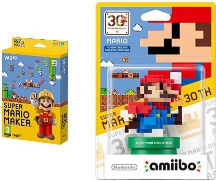 Mario Maker + Artbook + Amiibo Mario Colores Modernos