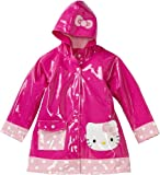 Western Chief Little Girls'  Hello Kitty Polka Dot Cutie Rain Coat