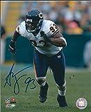 #7: Autographed Adewale Ogunleye 8x10 Chicago Bears Photo