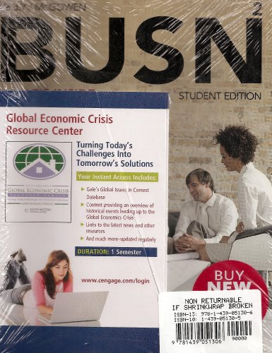 BUSN + Global Economic Crisis + Access Card