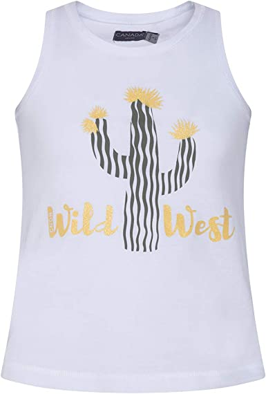 Canada House Camiseta Cactus niña, Talla 4A/Y: Amazon.es ...