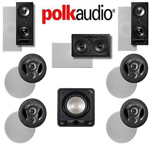 Polk Audio 900-LS 7.1 Vanishing Series In-Wall / I...