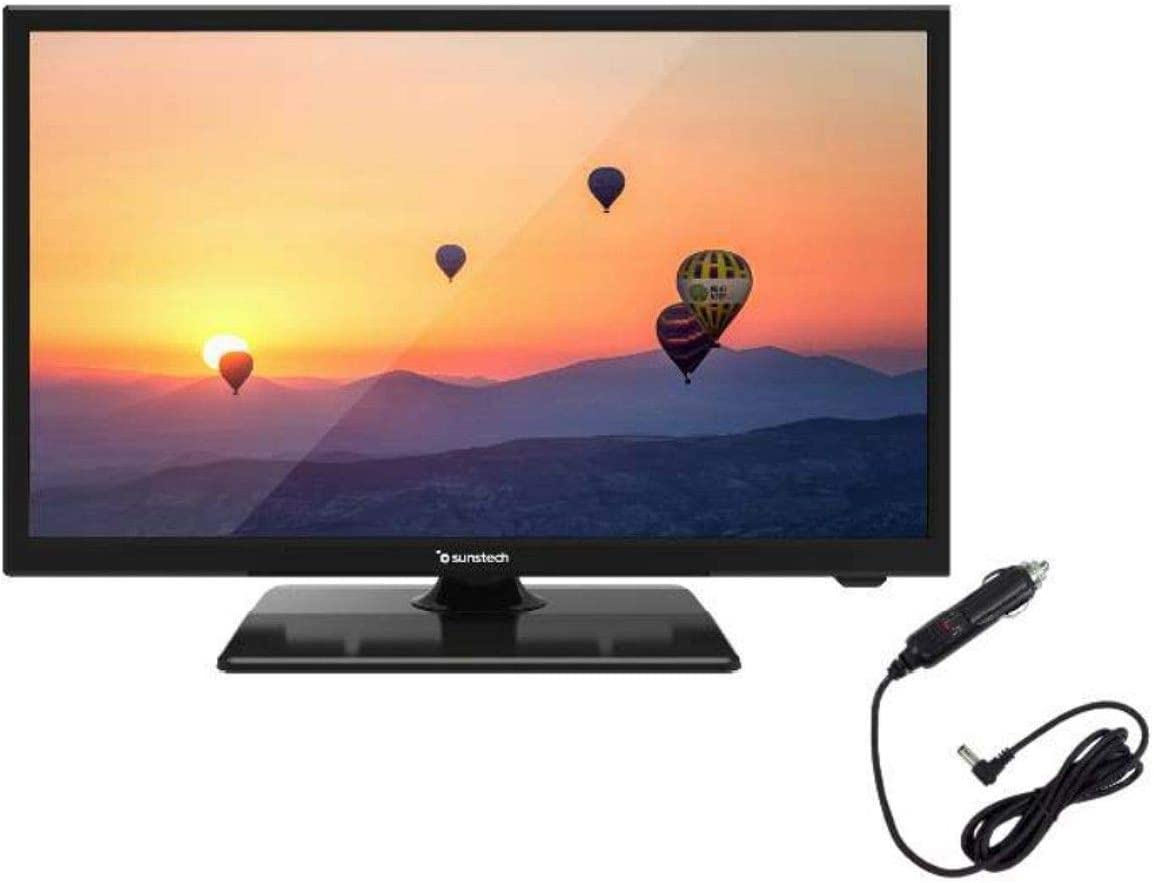 Sunstech TV 22 LED 22SUN19D FHD HDMI USB CONEXION 12V Negro ...