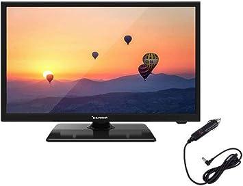 Sunstech TV 22 LED 22SUN19D FHD HDMI USB CONEXION 12V Negro: Sunstech: Amazon.es: Electrónica