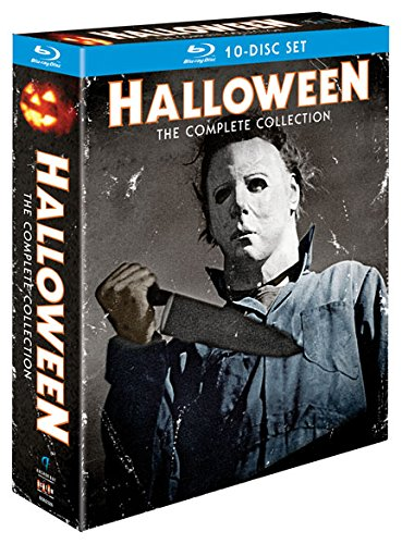 Blu-ray : Halloween Complete Collection (Boxed Set, 10 Disc)