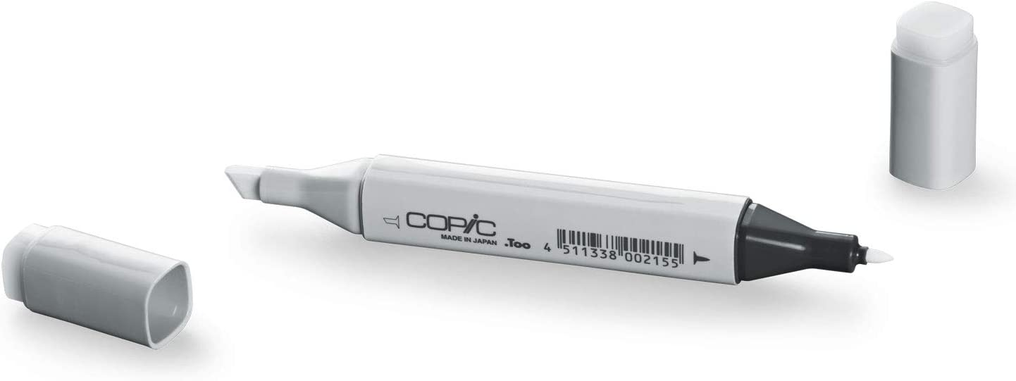 Copic Marker with Replaceable Nib, Clear