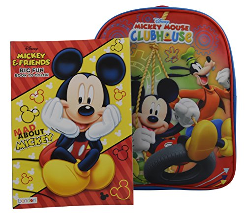 Disney Mickey Toddler Backpack Stationery