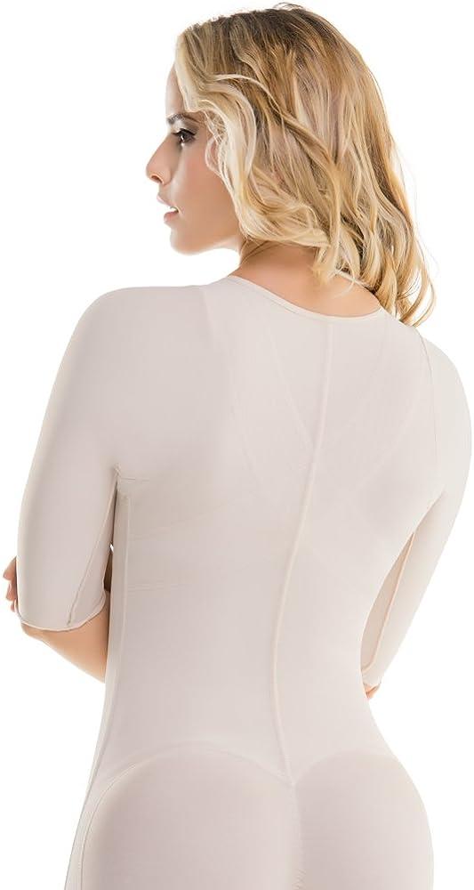 Firm Control Full Body Slimming Shapewear CYSM COLOMBIA Y SU MODA 295 Womens Top-to-Bottom Arms /& Legs Full Body Shaper