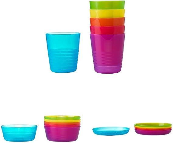 IKEA Kalas Kinderschüssel versch Farben 6er Pack BPA frei Schälchen Schüsseln