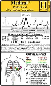 ECG Analysis / Instruction - Medical Pocket Card: Hawelka