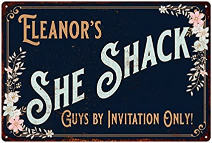 Vintage eleanor nameplates have