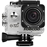 WIFI Action Camera, SOOCOO C10S Sports Camera Waterproof 12MP FHD 1080P- 2.0 LCD Screen, 170 Degree Wide Angle Lens, 30M/98ft Underwater Diving Camera with 2 Batteries - (Micro SD Card Not Included)