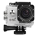 WIFI Action Camera, SOOCOO C10S Waterproof Action Camera 12MP FHD 1080P - 2.0 LCD Screen, 170 Degree Wide Angle Lens, 30M/98ft Underwater Diving Camera with 2 Batteries - (Micro SD Card Not Included)