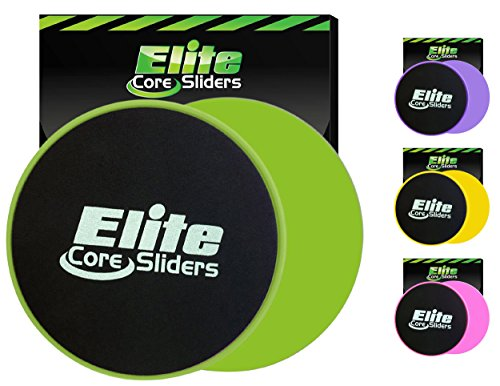 Elite Core Workout Exercise Sliders product image