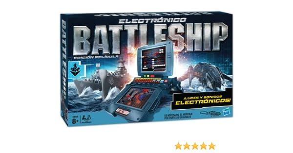 Hasbro Juegos Infantiles Battleship Electronico 38194105: Amazon.es: Juguetes y juegos