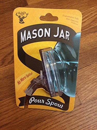 - Mason Jar Pour Spout (2-pack)