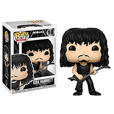 Funko Pop! Rocks: Metallica -Kirk Hammett Collectible Figure: Metallica, Kirk Hammett: Toys & Games