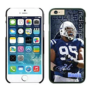 Indianapolis Colts Fili Moala Case Cover For Ipod Touch 5 NFL Cases Black NIC13025