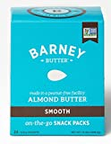 Barney Butter Smooth Almond Butter, 0.6 oz 24 Count (Pack of 4)
