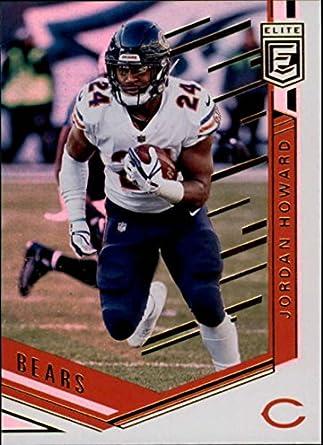 1f6006b90c5 2018 Donruss Elite #28 Jordan Howard Chicago Bears NFL Football Card (made  by Panini