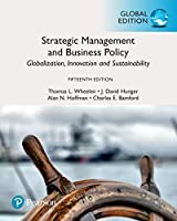 Strategic Management and Business Policy, Global Edition, 15th Edition Front Cover