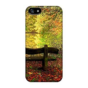 Awesome KIdZmaN340RwlKo WilliamMorrisNelson Defender Tpu Hard Case Cover For Iphone 5/5s- In Pursuit Of Peace