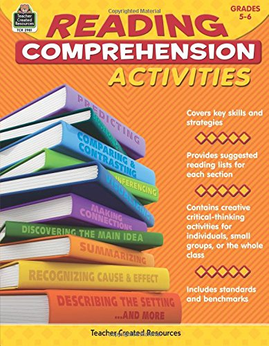 Read Online Reading Comprehension Activities Grade 5-6 PDF