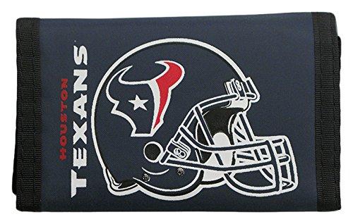 Houston Texans Wallet (NFL Houston Texans Nylon Trifold Wallet)