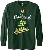 MLB Oakland Athletics Men's 58T Long Sleeve Tee