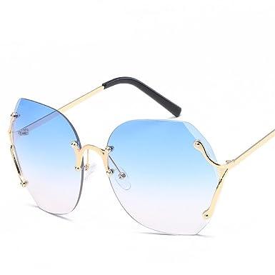Chahua Film en couleur, lunettes, lunettes de polygone élégant en métal noir, lunettes exposés