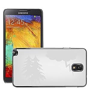 Super Stellar Slim PC Hard Case Cover Skin Armor Shell Protection // M00052088 aero white storm iridescent storm // Samsung Galaxy NOTE 3