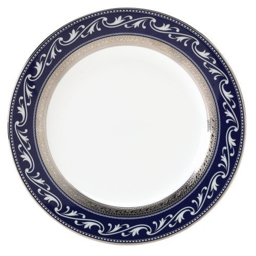 Noritake Rochelle Platinum Accent Plate, 9-inches by - Platinum Noritake Lights