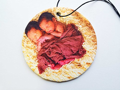 YOUR PICTURE ON A CIRCULAR CAR AIR FRESHENER