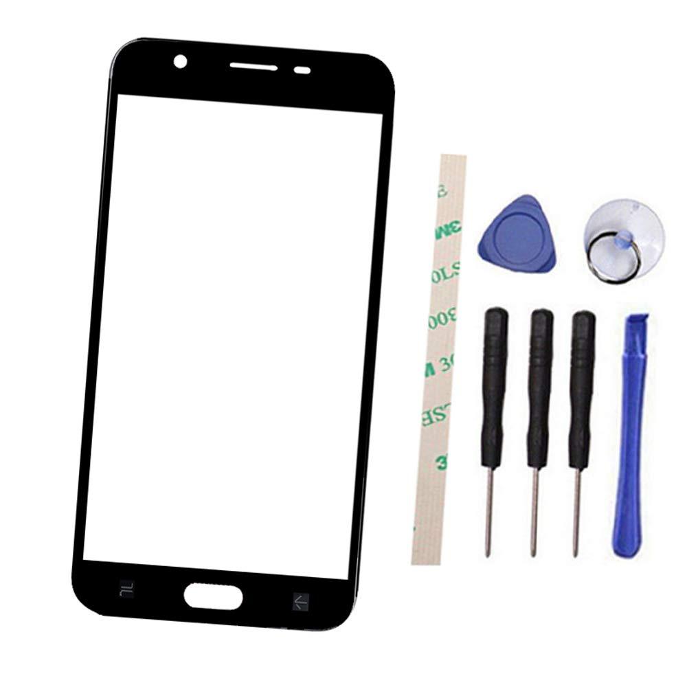 Vidrio Frente Para Samsung Galaxy J3 2018 Negro [draxlgon]