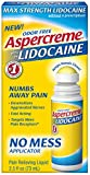 Aspercreme 4% Lidocaine No Mess Applicator, 2.5 oz, Pack of 3