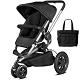 Quinny Buzz Xtra Stroller with Diaper Bag - Rocking Black