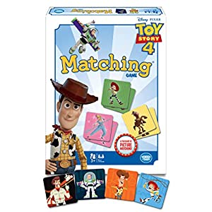 Wonder Forge Disney Toy Story 4 Matching Game for Girls & Boys