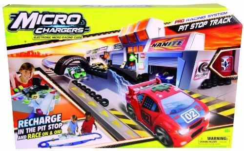 Micro Chargers Pro Racing Pit Stop Track by Micro Chargers